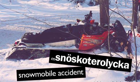 snöskoterförsäkring
